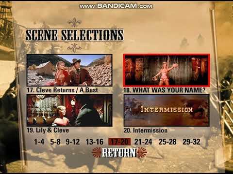 How the West Was Won 1999 DVD menu walkthrough