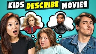 Video Can Marvel Fans Guess Marvel Movies Described By Kids? (React) MP3, 3GP, MP4, WEBM, AVI, FLV Agustus 2019