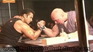What Was Hapened When Salman Khan Was In  Arm Wrestling ? UNSEEN Awesome video