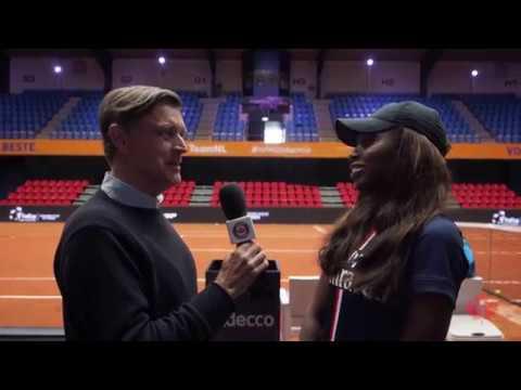 Tom Tebbutt remémore à Françoise Abanda plusieurs moments de sa carrière, dont ses premiers souvenirs du tennis et sa demi-finale à Wimbledon contre ...