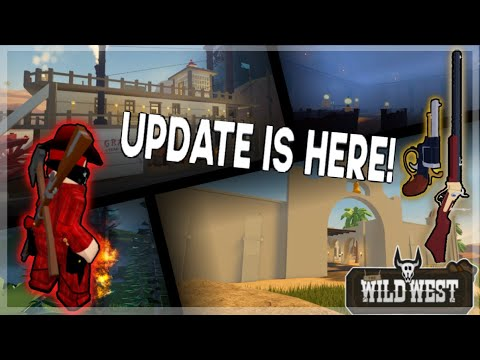 Wild West - Steamboat + Map Expansion Update! (Roblox)