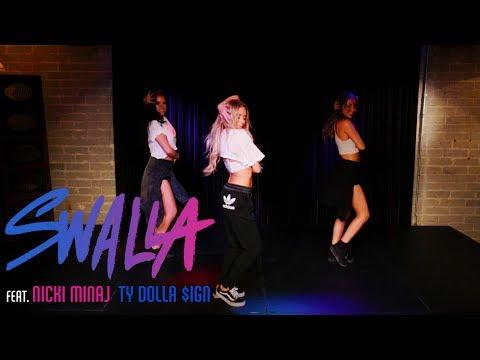 Jason Derulo - Swalla ft. Nicki Minaj & Ty Dolla $ign (Dance Tutorial) | Mandy Jiroux