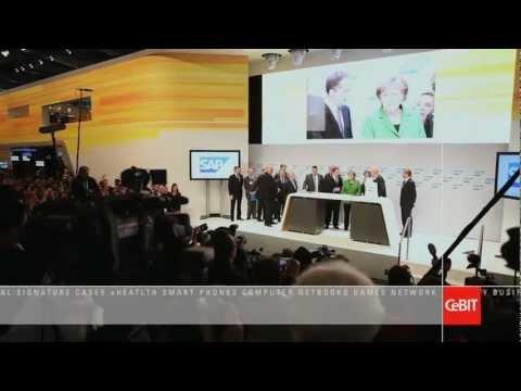 CeBiT Bilişim 2013 Hannover Açıldı