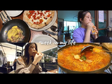 WEEK IN MY LIFE 💛 | life in korea, family relationship, lots of food