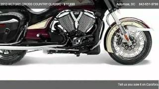 10. 2013 VICTORY CROSS COUNTRY CLASSIC CLASSIC LE - for sale in Murrells Inlet, SC 29576