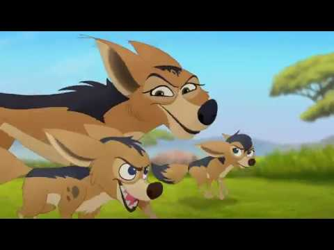 Lion Guard: Jackal Attack! | Babysitter Bunga HD Clip