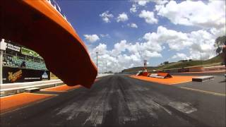 9. KTM 525 EXC vs CBR400RR drag
