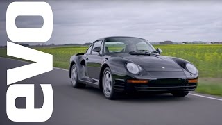 Porsche 959 driven | evo ICONS by EVO Magazine