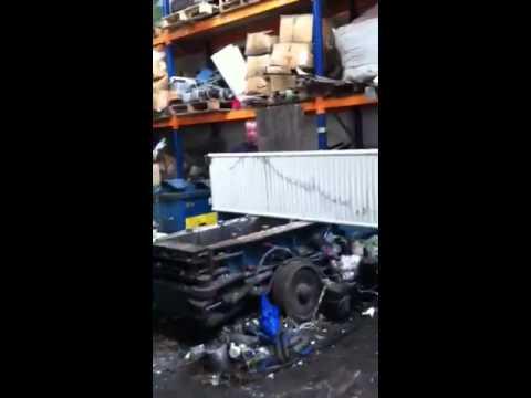 Scrap metal bailer