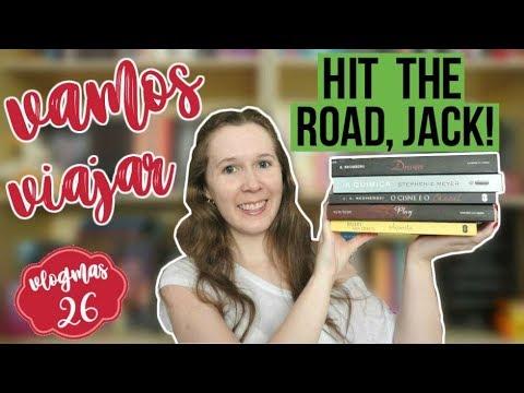 VLOGMAS #26 | Eu levaria para uma road trip | Leituras de Deni