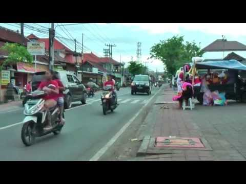 Impression of the streets, beach and fishermen of Jimbaran, south Bali, Indonesia