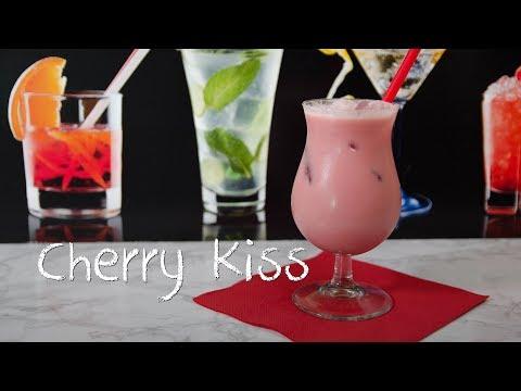 Cherry Kiss - der fruchtig süße Kirsch Cocktail (видео)