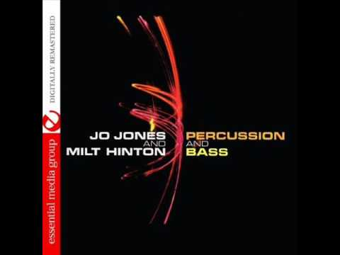 Jo Jones And Milt Hinton  – Percussion And Bass ( Full Album )