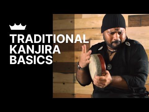 Remo + Selvaganesh: Kanjira Basics