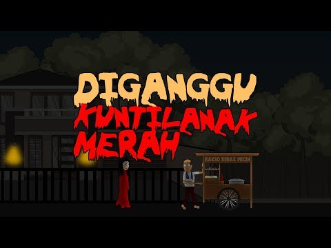 Download Video Diganggu Kuntilanak Merah | Animasi Horor Kartun Lucu | Warganet Life