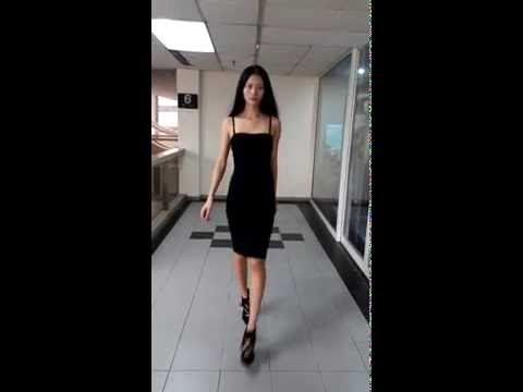 Zhou Mo Catwalk Video (видео)