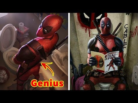 Hilarious Deadpool 2 Comics Moments To Make You Laugh  Funny Pictures