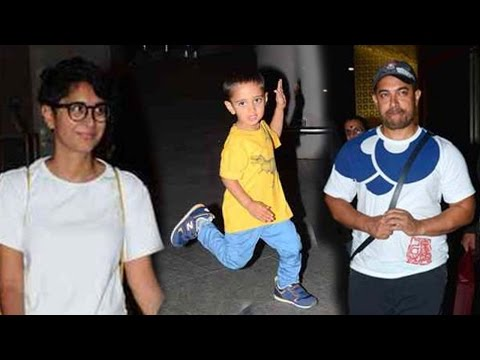 Must Watch: Aamir Khan's Son Azad Khan's Cutest Da