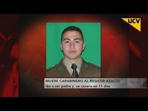 video Muere carabinero al resistirse a un asalto