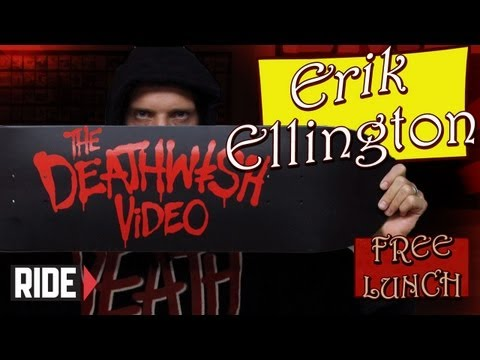 Erik Ellington -The Deathwish Video, Antwuan Dixon, and More on Free Lunch