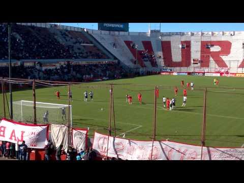 Penal Huracán contra Atlético Tucumán desde la tribuna - La Banda de la Quema - Huracán - Argentina - América del Sur