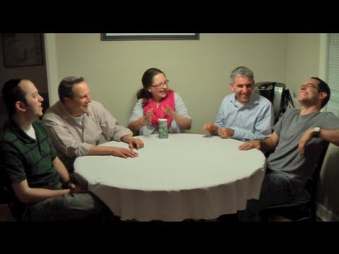 adon - Listen Up! Jewish Vocal Band performs an impromptu