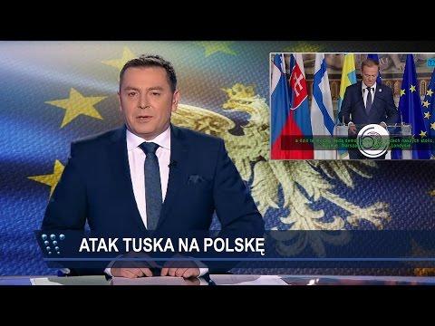 TVP atakuje Donalda Tuska za jego przemówienie w Rzymie.