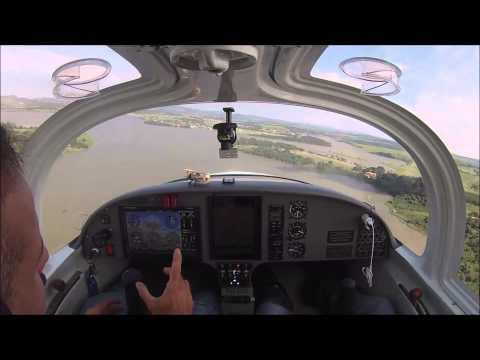 Ilha Brasil, Ijaci, e pouso em Lavras, SSOL. Super Petrel LS, Fly4Fun