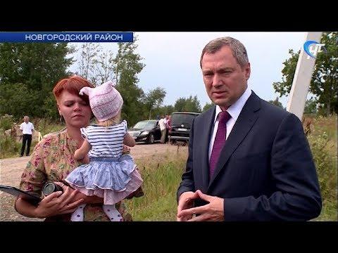 С рабочим визитом Новгородскую область посетил генеральный директор ПАО «Россети» Олег Бударгин