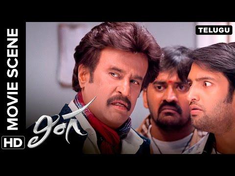 Rajinikanth's great escape | Lingaa Movie Scene
