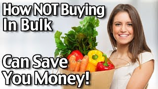 Subscribe to Living On A Dime on YouTube! http://bit.ly/1QDDmbNVisit Our Website: http://www.LivingOnADime.com/Free e-Mail Newsletter: http://bit.ly/1LfQf4yHow NOT Buying In Bulk Can Save You Money!In this brief video, we share how buying food in bulk at warehouse stores does not necessarily save you money, and actually may be costing more money and stress!Are Warehouse Stores Wearing Out Your Wallet?http://www.livingonadime.com/warehouse-stores-wearing-wallet/How I Order All My Groceries Online! Walmart Grocery Delivery https://www.youtube.com/watch?v=V_7KdWAvRwgFind all of our books, including our Dining On a Dime cookbook here:http://www.livingonadime.com/store/How To Save Money On Groceries e-Coursehttp://www.livingonadime.com/save-money-groceries-bill-ecourse/Get my How To Make Soap For Beginners e-Course here:http://www.livingonadime.com/how-to-make-soap-for-beginners/My Homemade Soap Channel - How to Make Soap On A Dimehttp://bit.ly/2m4nOSGDining On A Dime Cookbook Correctionshttp://www.livingonadime.com/dining-dime-cookbook-corrections/BJ's YouTube Channelhttps://www.youtube.com/channel/UC_eboJJ346s-qIcysCTr3tAElly's YouTube Channelhttps://www.youtube.com/channel/UCcLi_6mgUNux0IqoADCd1aAFor More Easy Ideas, Visit Our Website: http://www.LivingOnADime.com/Our mailing address:Living On A DimeP.O. Box 193Mead, CO 80542You can send us an e-mail here:http://www.livingonadime.com/contact/**********************The equipment we use for our videosThe camera: for recipes: http://amzn.to/2azAcGZfor on the go shots: http://amzn.to/2amE3HKfor Live videos: http://amzn.to/2amDVs4The lights: http://amzn.to/2acLdM2The editing software:http://amzn.to/2aHsdYpThe computer: http://amzn.to/2ap7Ik2For Audio: http://amzn.to/2amF82cPlease note some of these links are affiliate links and we use them to bring you more recipes and tips! Thanks for your support! :-)________________________ OUR FREE NEWSLETTER!http://www.livingonadime.com/newsletter-signups/SUBSCRIBE TO OUR YOUTUBE CHANNEL!http://www.youtube.com/subscription_center?add_user=mkellam2OUR FACEBOOK! https://www.facebook.com/livingonadimeOUR PINTEREST! https://www.pinterest.com/livingonadime/#howtosavemoneyonfood#savemoneyongrocerieswithoutcoupons#savemoneyongroceries#bulkwarehousestores#warehousestores#warehousefoodstores#warehouseretailstores#bulkfoodwarehouse#bulkbuyswarehouse#bulkbuyfood#wholesalebulkproducts