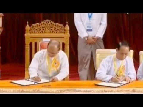 Μιανμάρ:Εκεχειρία με οκτώ ένοπλες ομάδες ανταρτών υπέγραψε η κυβέρνηση