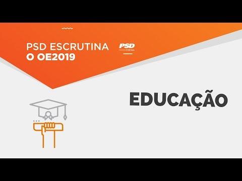 PSD escrutina o OE 2019 para a Educação
