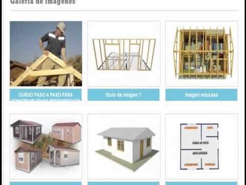 Casa de este alojamiento como hacer una casa prefabricada de madera - Como construir una casa prefabricada ...