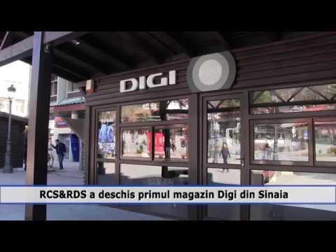RCS&RDS a deschis primul magazin Digi din Sinaia