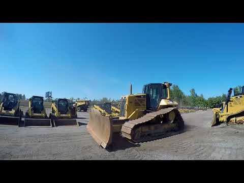 CATERPILLAR KETTENDOZER D6NLGP equipment video 8UW2hHriXxo