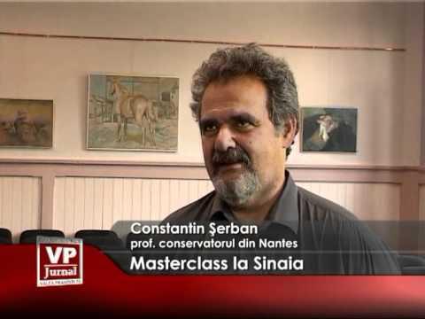 Masterclass Sinaia