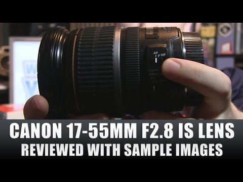 17 55mm - Canon EF-S 17-55mm f/2.8 IS USM Zoom Lens Review with sample images + video test link. Full Review at http://www.worldofypod.com I got this lens over Christm...