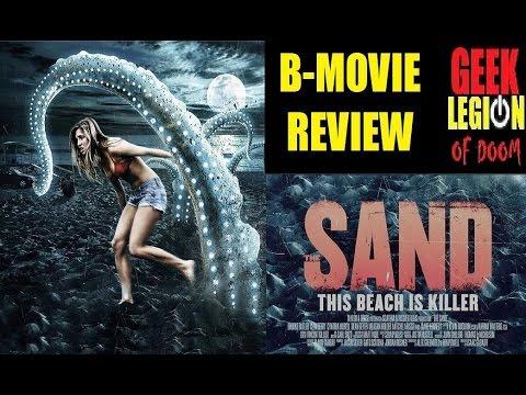 THE SAND ( 2015 Brooke Butler ) aka KILLER BEACH B-Movie Review