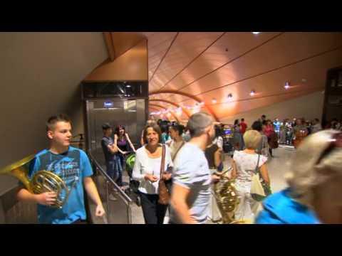 """Първият оркестров флаш моб в България! Класик ФМ оркестър в цикъла """"Музиката на Америка"""""""