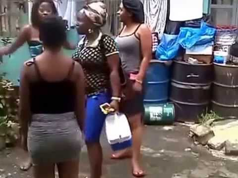 2 Sexy Africans Girls Fighting
