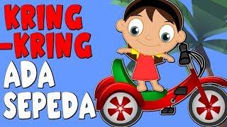Download Video Kring Kring Ada Sepeda | Versi Baru | Lagu Anak Anak | Kumpulan 18 min MP3 3GP MP4