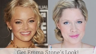 jornal de angola Emma Stone Inspired Casual Bun
