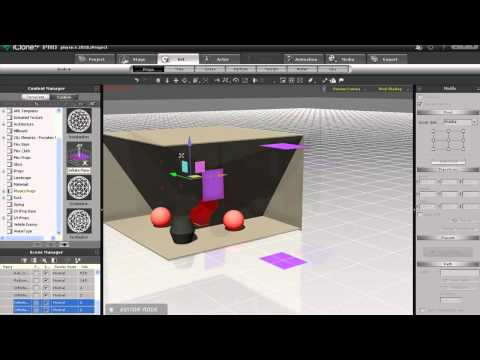iClone5 Tutorial – Physics 201 Kinematic Object Interaction