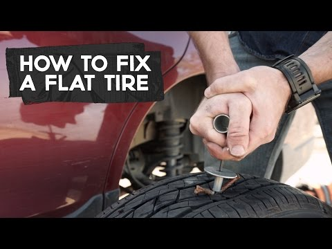 How To Patch A Flat Tire