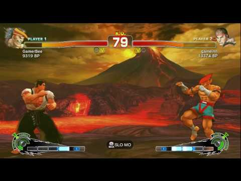 adon - Ranked Match in Super Street Fighter IV.