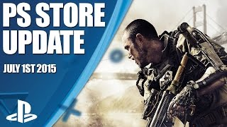 PlayStation Store Highlights - 1st July 2015