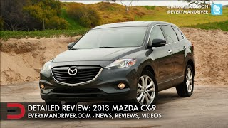 2013 Mazda CX-9 DETAILED Review On Everyman Driver