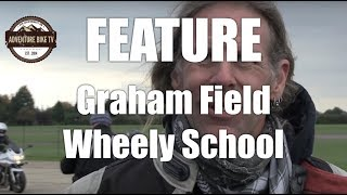 For his Birthday, we treated Graham to the wheely school he had always wanted to do!