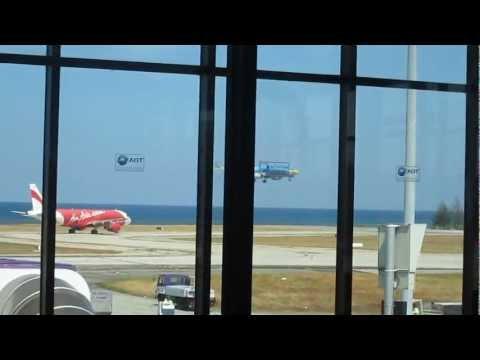 Phuket Airport Rush Hour (Take off and Landing)